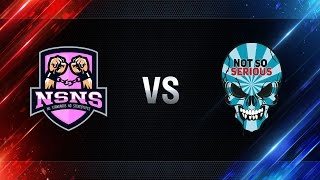 NS-NS vs Not So Serious - day 3 week 2 Season I Gold Series WGL RU 2016/17
