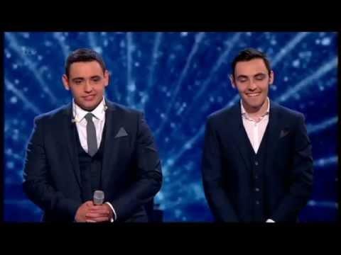 RICHARD & ADAM  - BRITAIN'S GOT TALENT 2013 SEMI FINAL  PERFORMANCE