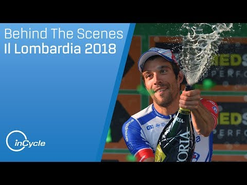 Behind The Scenes at Il Lombardia 2018 | Ft. Nibali, Pinot and more! | inCycle