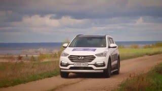 АвтоБлог — Hyundai Santa Fe 2016 тестдрайв 13.05.16