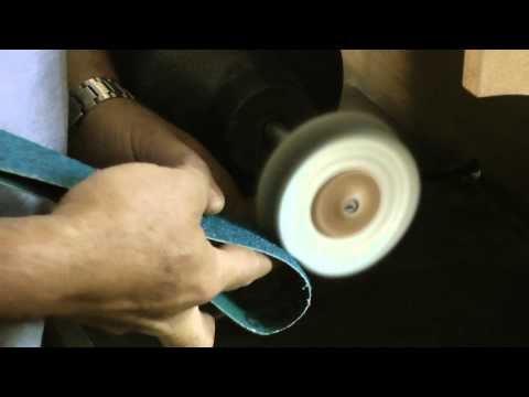 Knifemaker Workshop Tip #20 - How to clean you buffing wheels ...