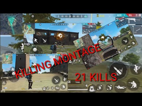 Killing Montage In Freefire Gaming With Aayush