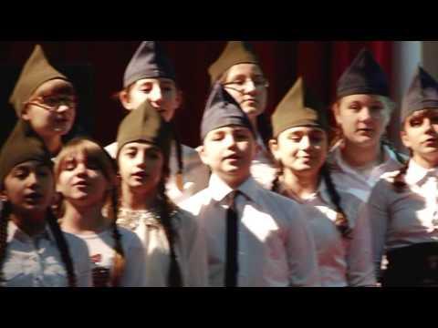 г. Адыгейск - Фестиваль патриотической песни - ФЛЕШМОБ - СОШ №2