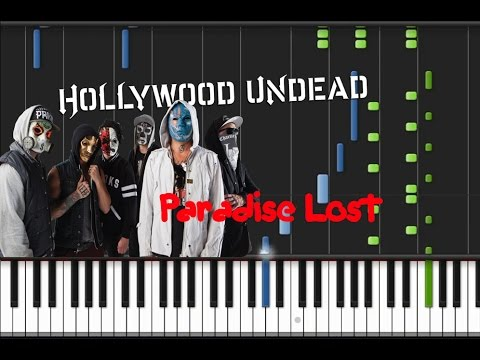 Hollywood Undead - Paradise Lost [Piano Tutorial] (♫)