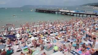 Пляж пос. Кабардинка июль 2016 г. как в былые времена !(На пляже в пос. Кабардинка. июль 2016 г., 2016-07-12T20:17:57.000Z)