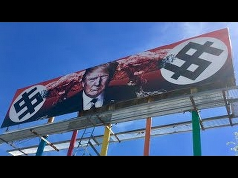 Anti Trump Billboard In Arizona Causes Outrage, Leads To Death Threats (March 18, 2017 Hea