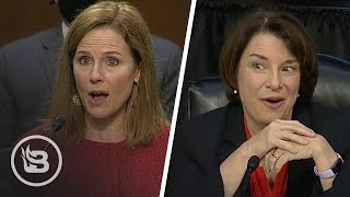 Klobuchar Challenges ACB On Roe v. Wade Only to Be EMBARRASSED On Live TV