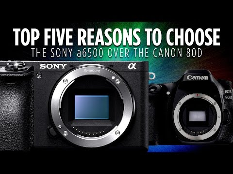 Thumbnail: Top 5 Reasons to Choose the Sony a6500 over the Canon 80D