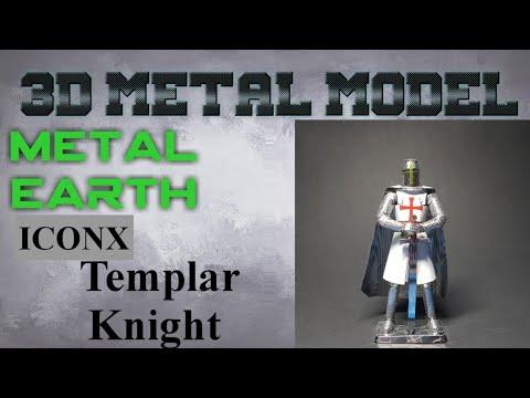 Metal Earth ICONX/Premium Series Build - Templar Knight