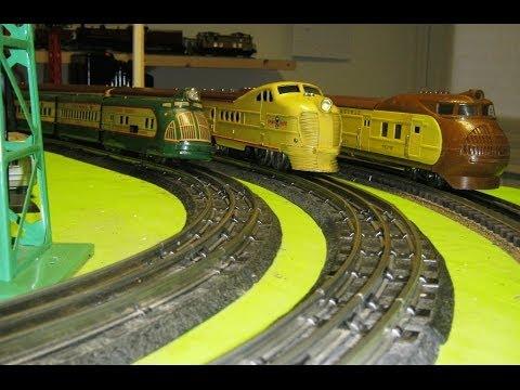 Prewar USA Streamliner Model Trains