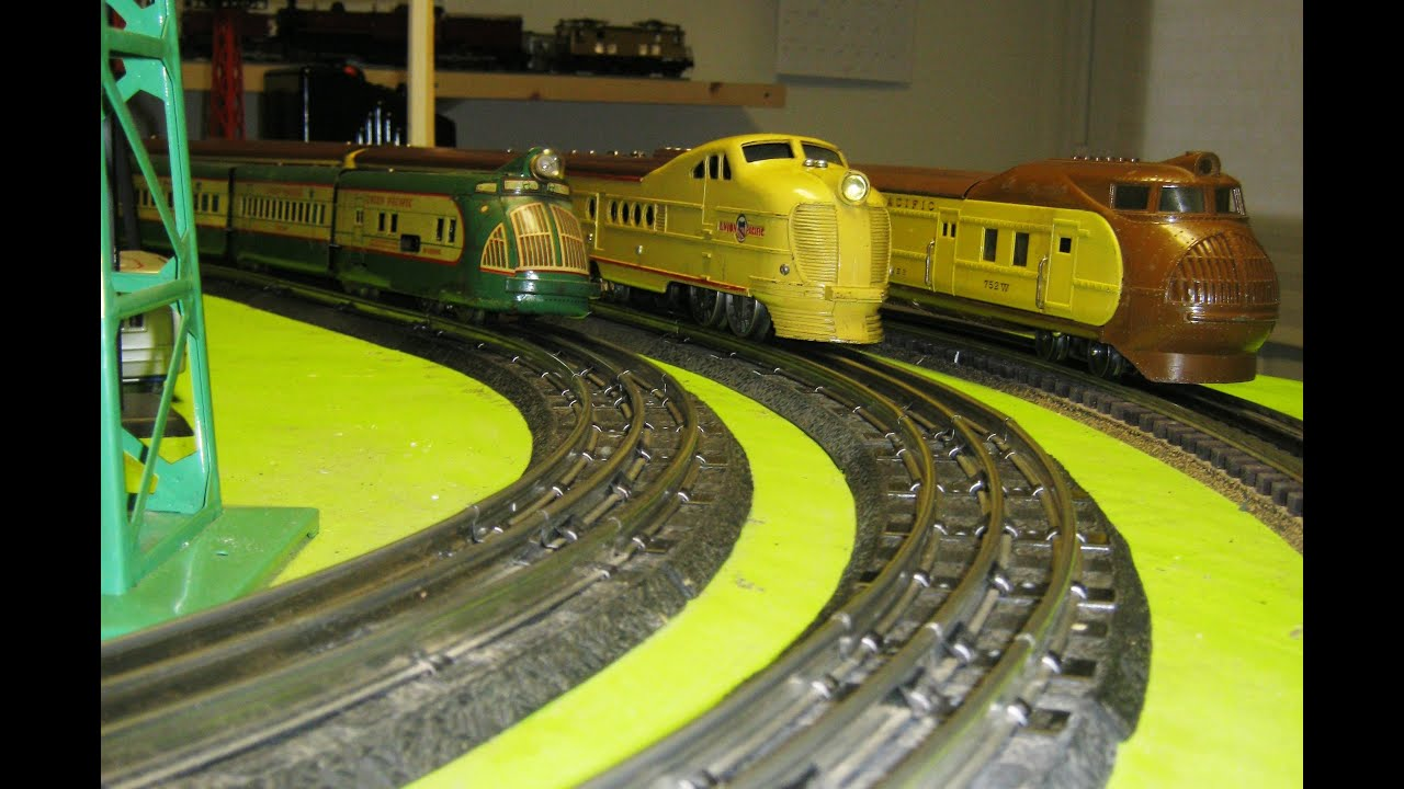 Prewar usa streamliner model trains youtube
