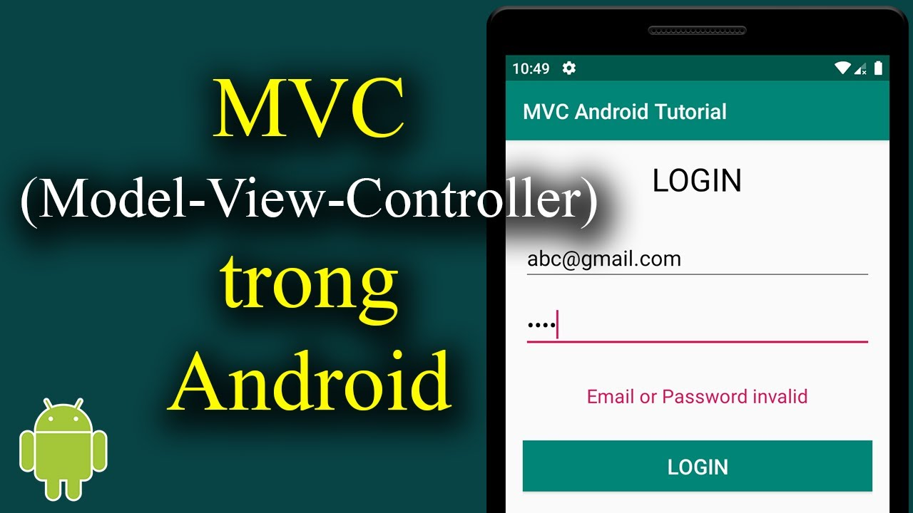 Mô hình Model-View-Controller (MVC) trong Android – [Android Tutorial – #23]