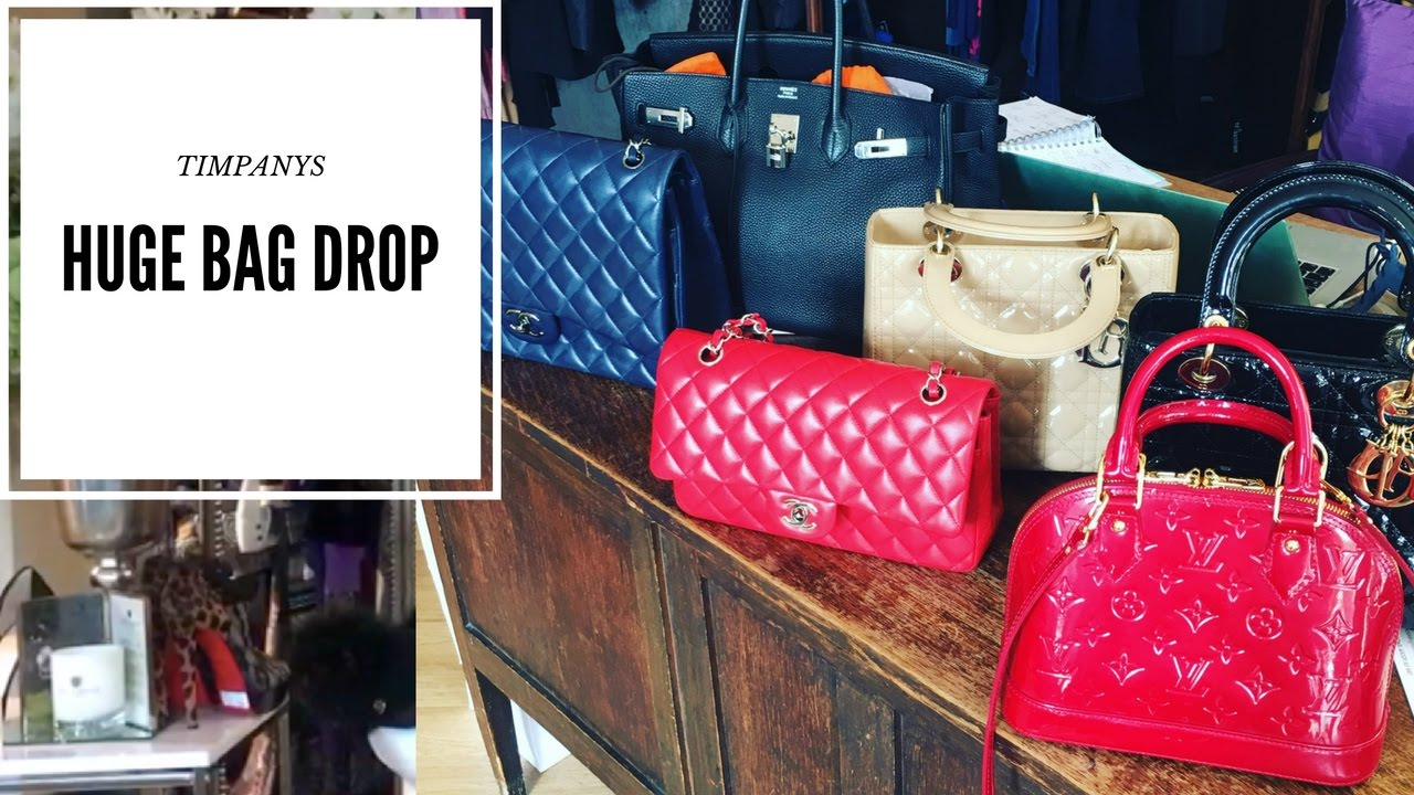 Designer bag collection 2016 | Hermes Birkin, Chanel, Dior & Louis ...