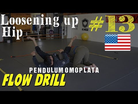 Omoplata Mobility Drill - Loosing your Hips Up