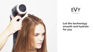 Silky Straight Hair with EVY Professional