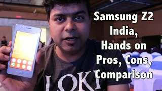Hindi | Samsung Z2 India Hands on, Camera, Gaming and Comparison, Not a Review | Gadgets To Use