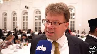 Eindrücke des Oberbürgermeisters von Fulda - Empfang Eröffnung Bait-ul-Hamid-Moschee Fulda