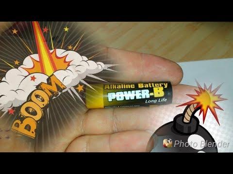 Pil Parcaladık . Battery Boom