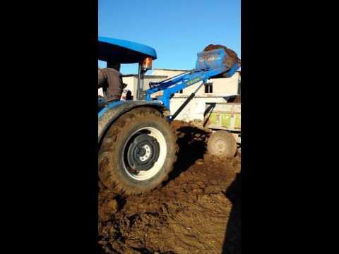 Traktör arka Yükleyici