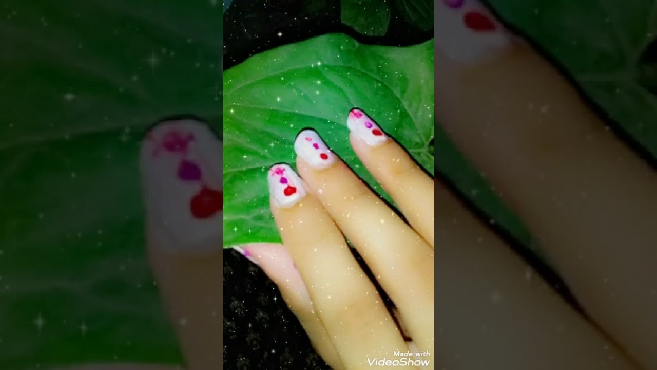 Easy nail art for beginners without nail art tools without tools easy and simple