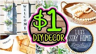Cheap (NOT CHEESY) $1 DIY Room Decor Ideas