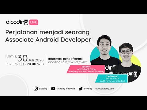 Perjalanan Menjadi Seorang Associate Android Developer