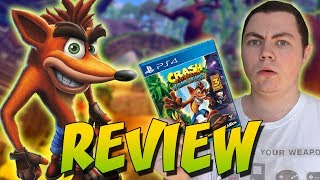 Crash Bandicoot N. Sane Trilogy Review - Square Eyed Jak