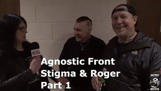 AGNOSTIC FRONT - Vinnie Stigma & Roger Miret - Interview & Live Footage (1/2) - NYHC - MPRV News