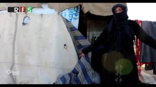 نازحو الغوطة الشرقية يسكنون في مزارع بدون اي خدمات