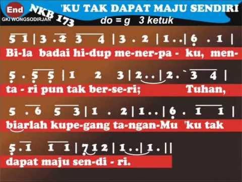 NKB 173   Ku Tak Dapat Maju Sendiri - I Cannot Find the Way Alone