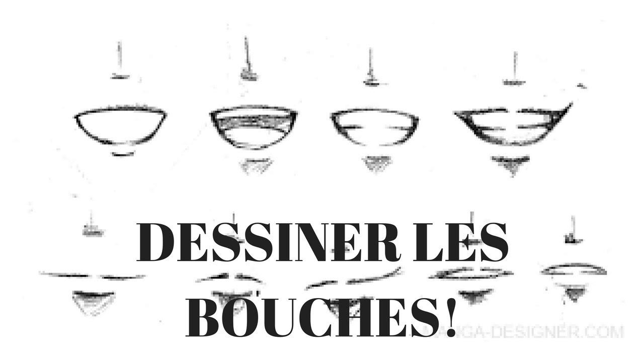 Tutoriel Comment Dessiner Les Bouches Style Manga Youtube