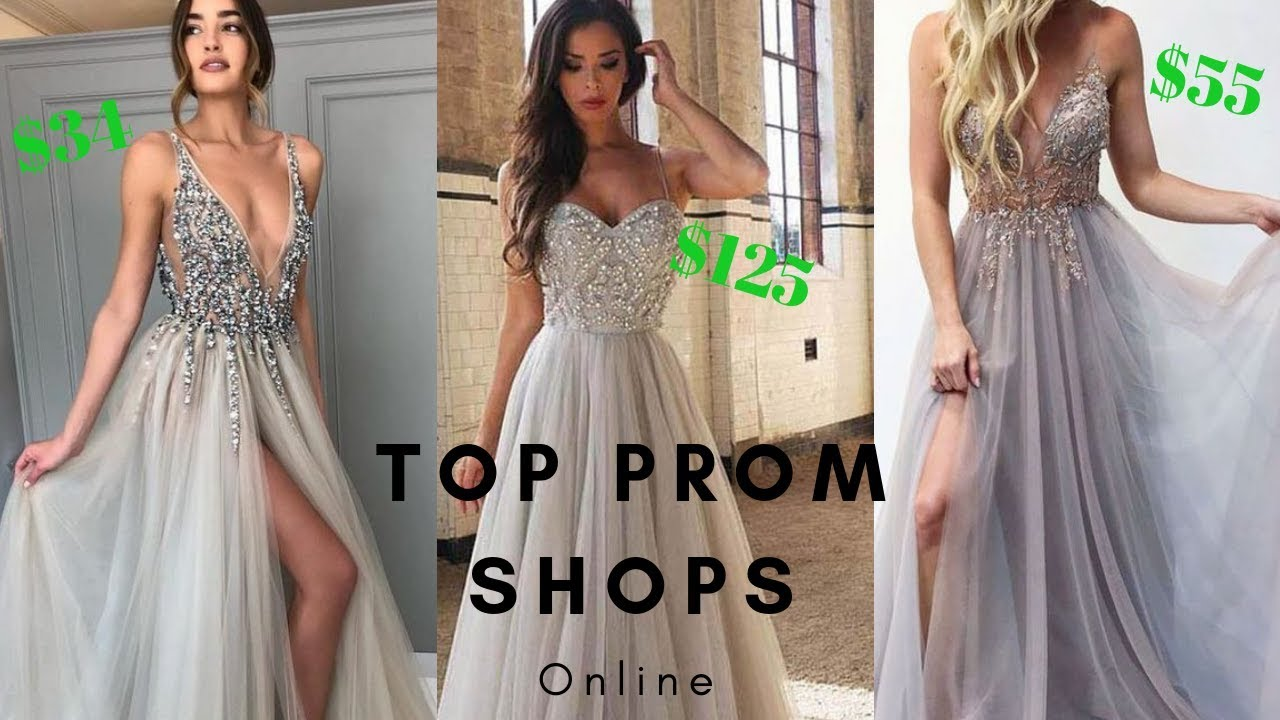 aebeea553e2a Top 2019 Online Prom Shops To Buy Your Prom Dress - Find Styles As Low As  $34!