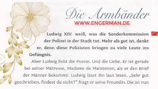 Deutsch lernen mit Geschichten #28 | B1-B2  | Deutsch lernen kostenlos online