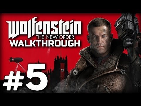 Прохождение WOLFENSTEIN: The New Order — Часть #5: ТЮРЬМА АЙЗЕНВАЛЬД