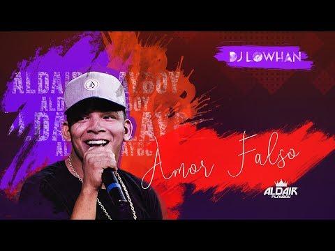 Aldair Playboy -  Amor Falso ( Lyric Video )