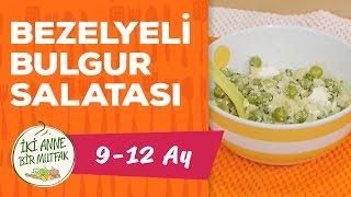 Bebekler İçin Bulgur - Bezelyeli (9 Ay +) | İki Anne Bir Mutfak