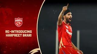 Re-introducing Harpreet Brar! | Punjab Kings | IPL 2021