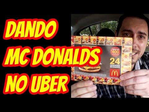 Ganhe Gorjeta Dando MC Donalds no Uber