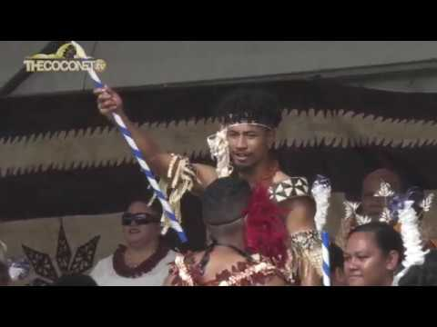 Polyfest 2018 - Tonga Stage:  Mangere College Soke
