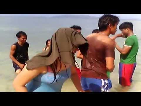 Beach in masbate  budots