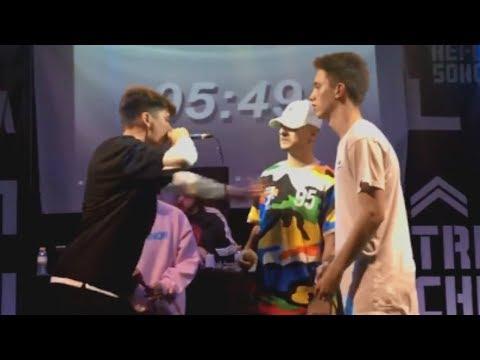 Lit Killah Ecko vs Walls Mc Men | Batalla de Exhibición Málaga 2018 HD