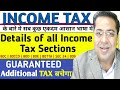 How to save tax in India 2019-20   Income Tax Deductions   Income Tax All Sections