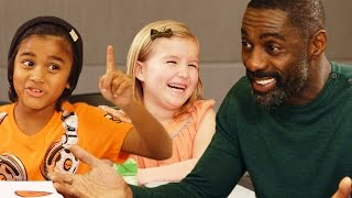 Idris Elba Gets Valentine's Day Advice from Kids // Omaze