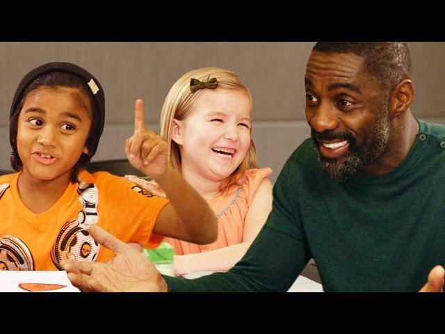 Idris Elba Gets Valentines Day Advice from Kids // Omaze