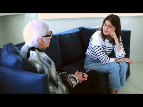 Iris Apfel & Leandra Medine: The Chatroom