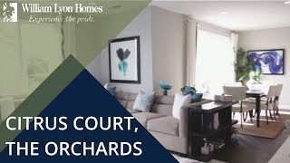citrus court at the orchards new homes in upland ca
