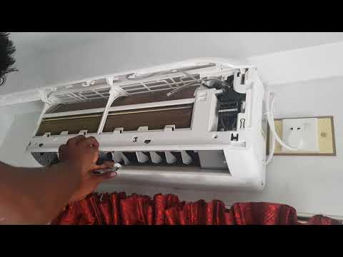 Water Drips from inside Unit , AC Servicing || Singer 1 ton Inverter AC