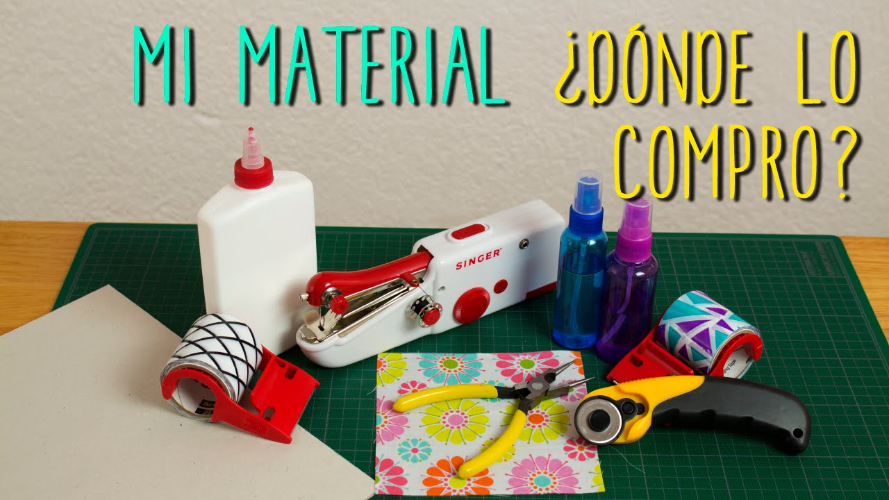 Material para manualidades d nde lo compro for Materiales para un vivero forestal