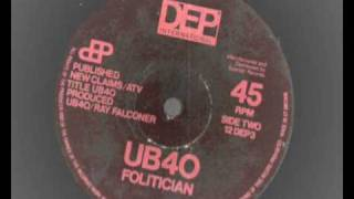 Watch Ub40 Folitician video