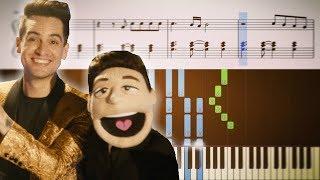 HEY LOOK MA, I MADE IT (Panic! At The Disco) - Piano Tutorial + SHEETS mp3